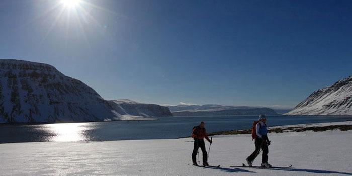 ski de rando en Islande