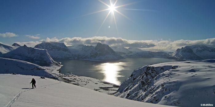Ski de randonnée en Norvège : Senja Island