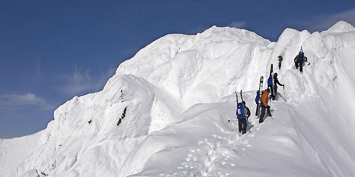 ski de randonnée au Yukon
