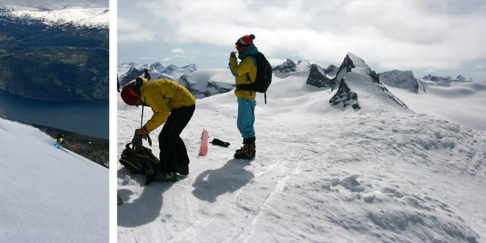 ski de randonnée en Norvège