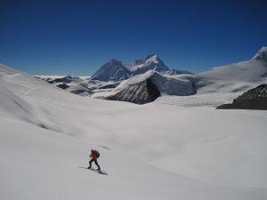 ski de randonnee au Tibet