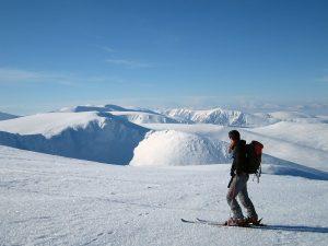 Ski de randonnée au Royaume Uni
