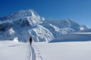Ski de randonnée en Nouvelle Zélande