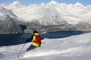 ski de randonnee au Etats-Unis