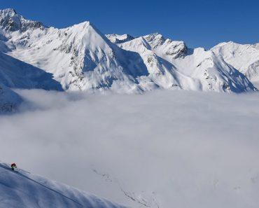 ski de randonnée à Peyragudes