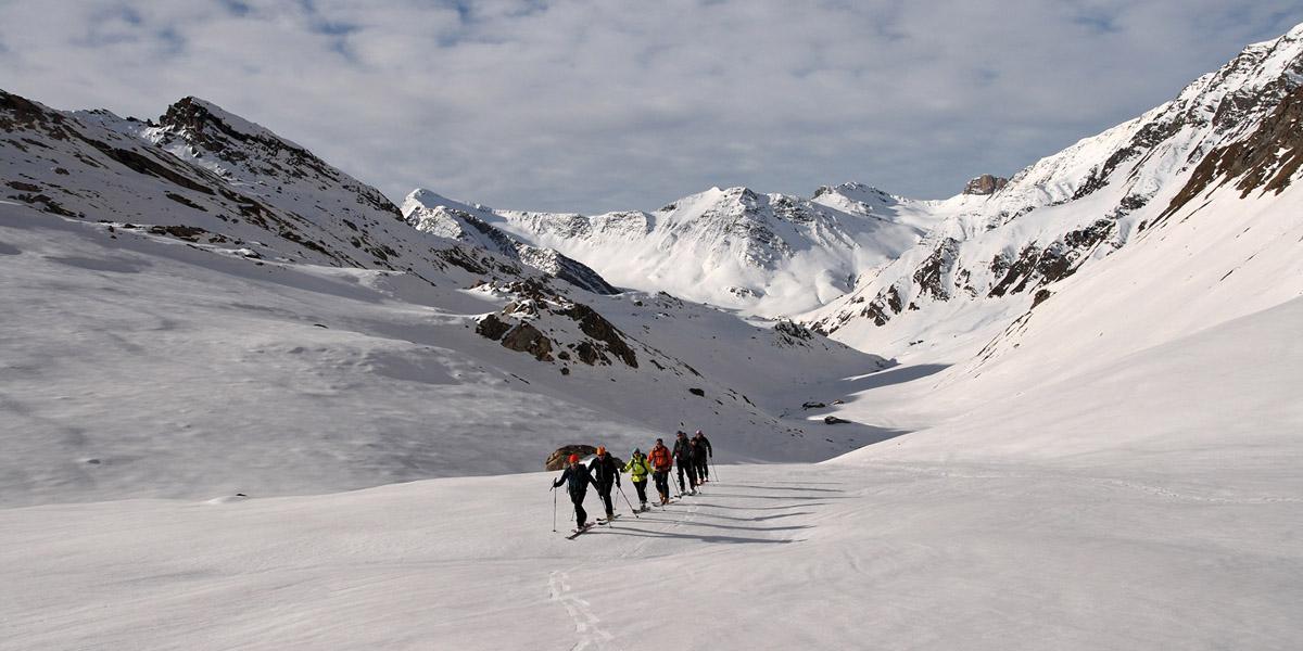 Le tour du Viso en ski de randonnée