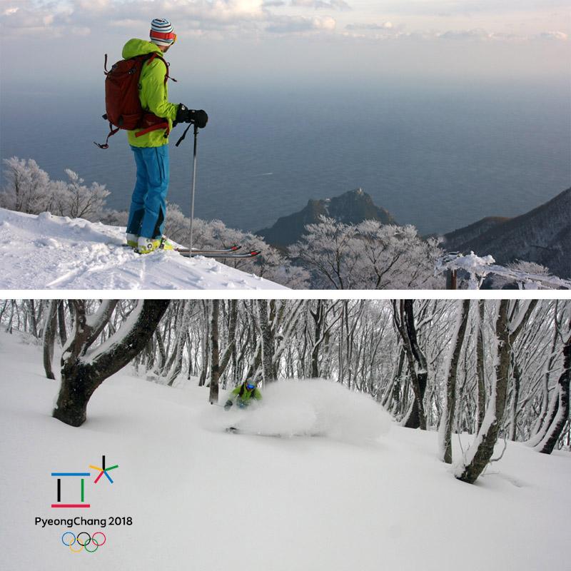 Ski de rando en Corée du sud