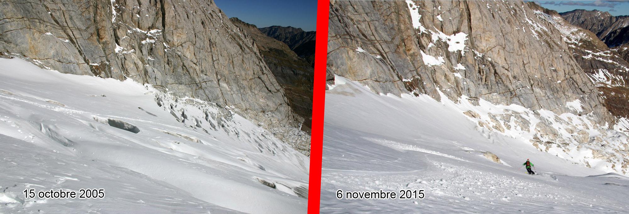Derniers virages sur les glaciers pyrénéens