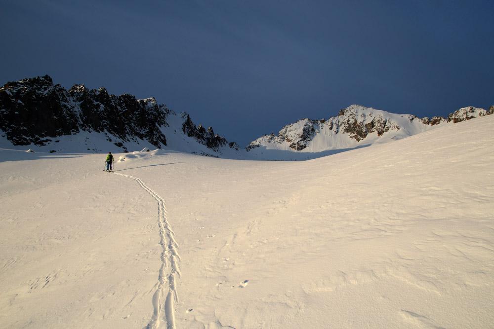 Ski de rando à l'Ardiden