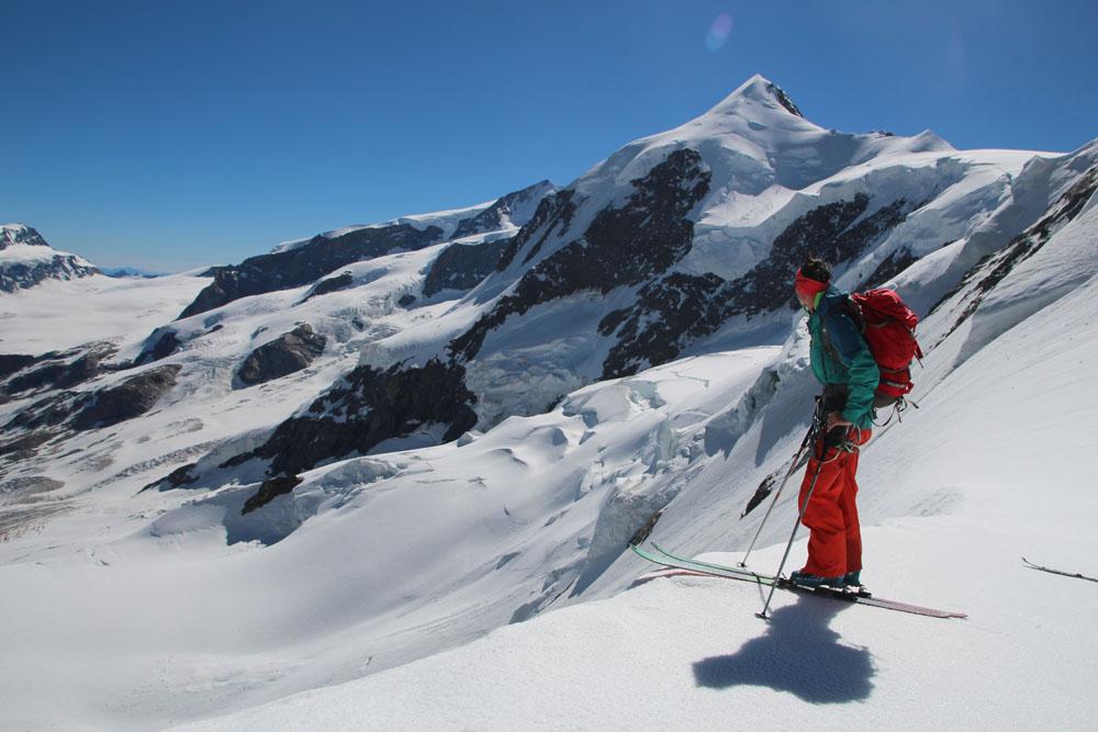 Les 4000 du Mont Rose en ski de rando