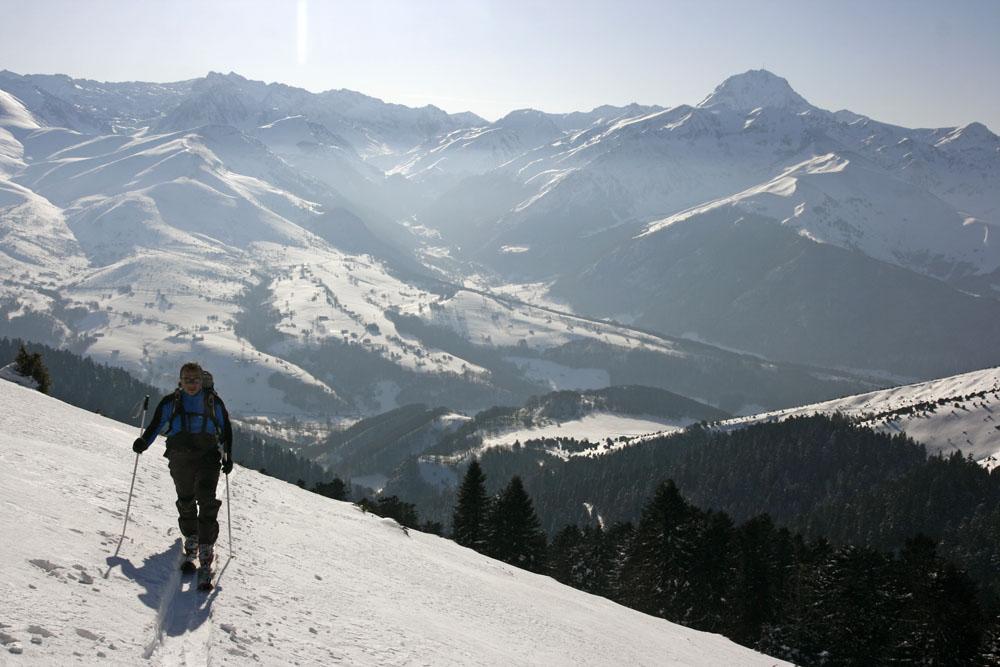 Payolle : ski de rando, escalade, VTT