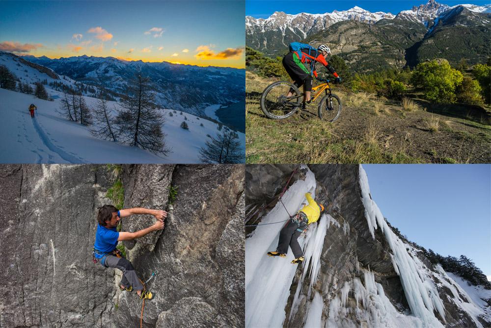 Hautes-Alpes : ski de rando, escalade, VTT