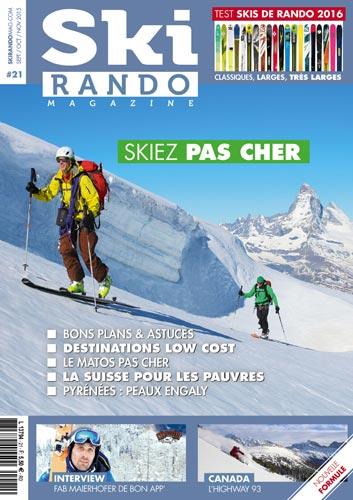 Ski rando magazine n°21