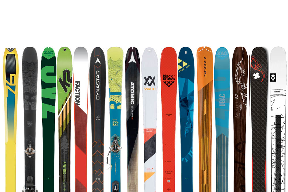 Test skis de randonnée : tests ski de rando
