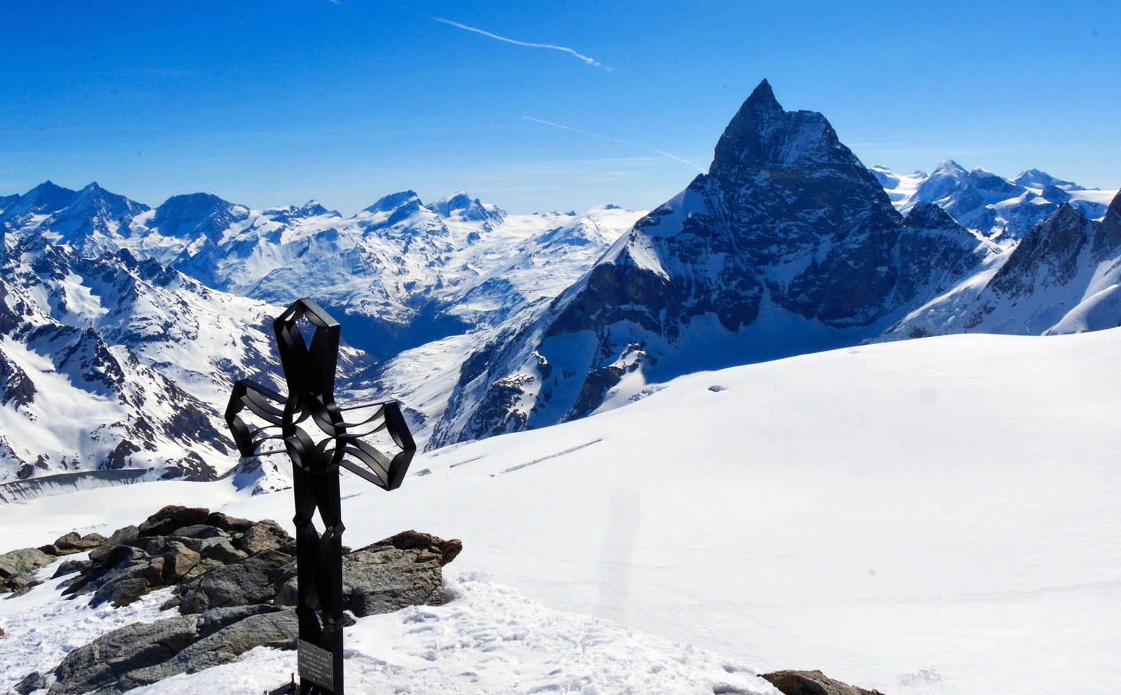Raid à skis en Valpelline : tour du Mont Brulé
