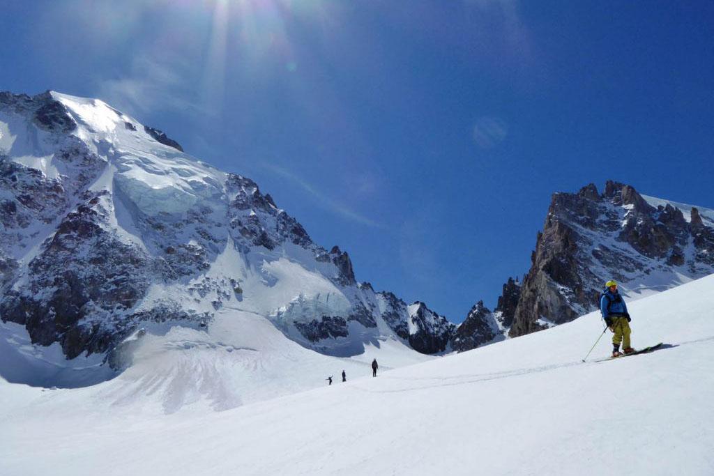 Aiguilles Dorées : ski de haute montagne à la carte