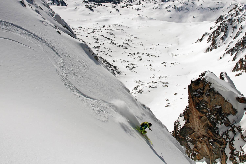 Ski de rando inter stations dans les Pyrénées