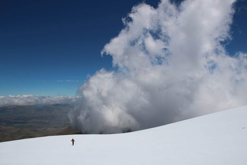 ski de rando sur les volcans de l'Equateur