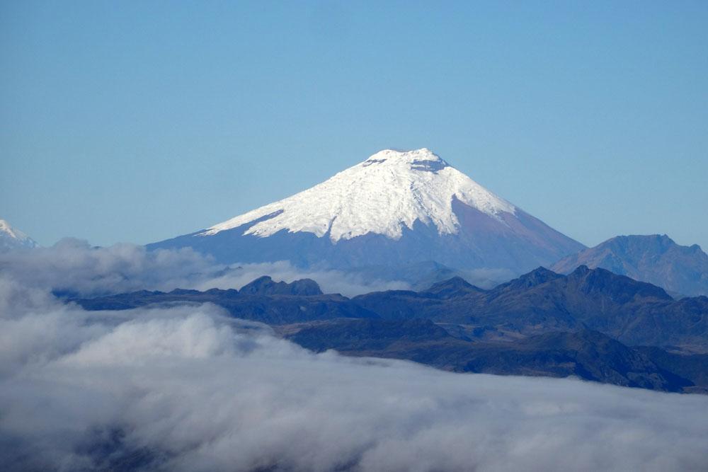Ski de rando sur les volcans d'Equateur