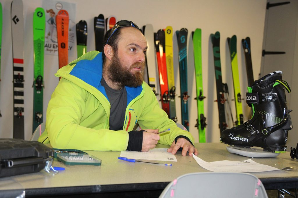 test ski rando kastle tx82