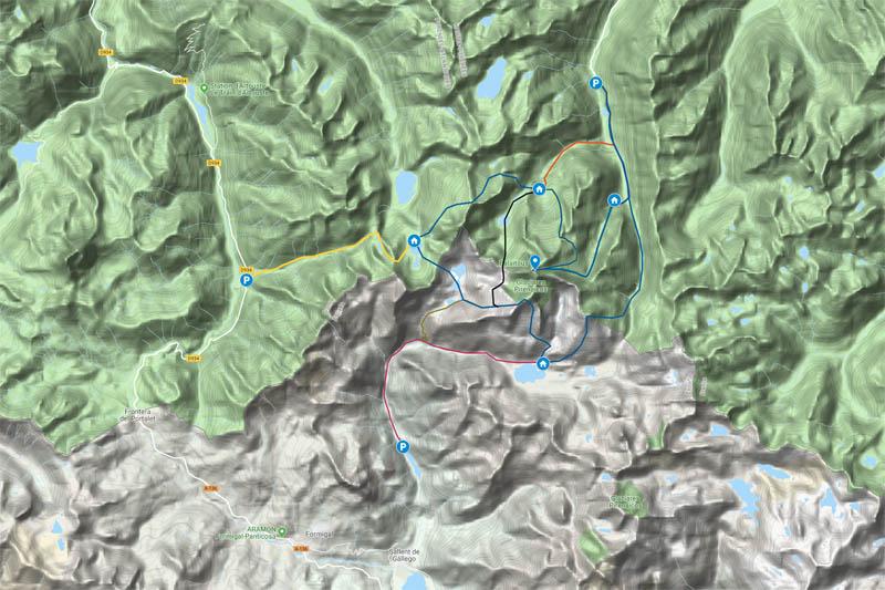 carte balaïtous ski rando