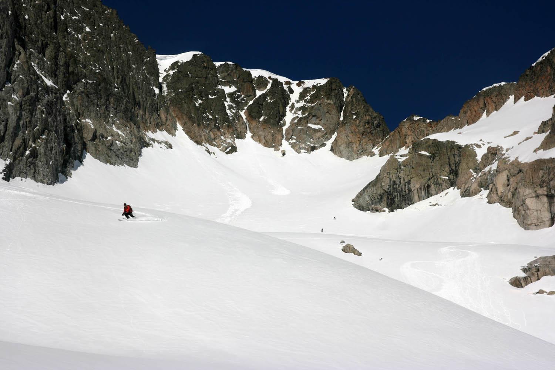 ski de rando au Balaïtous