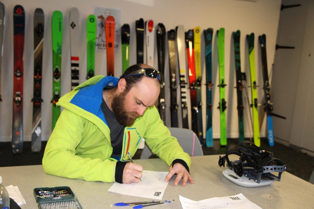 test ski rando scott scrapper 105