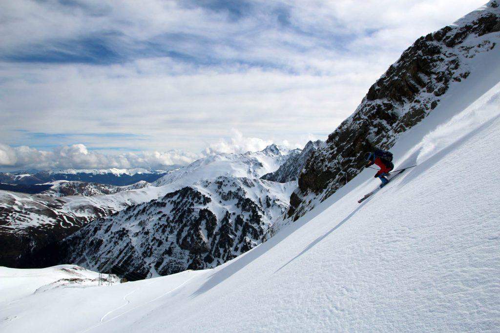 test ski randonnee scott scrapper 95