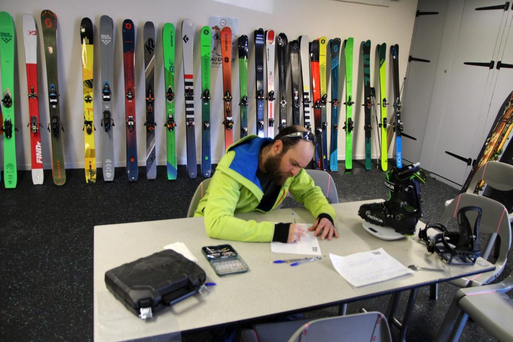 test ski rando movement race pro 85