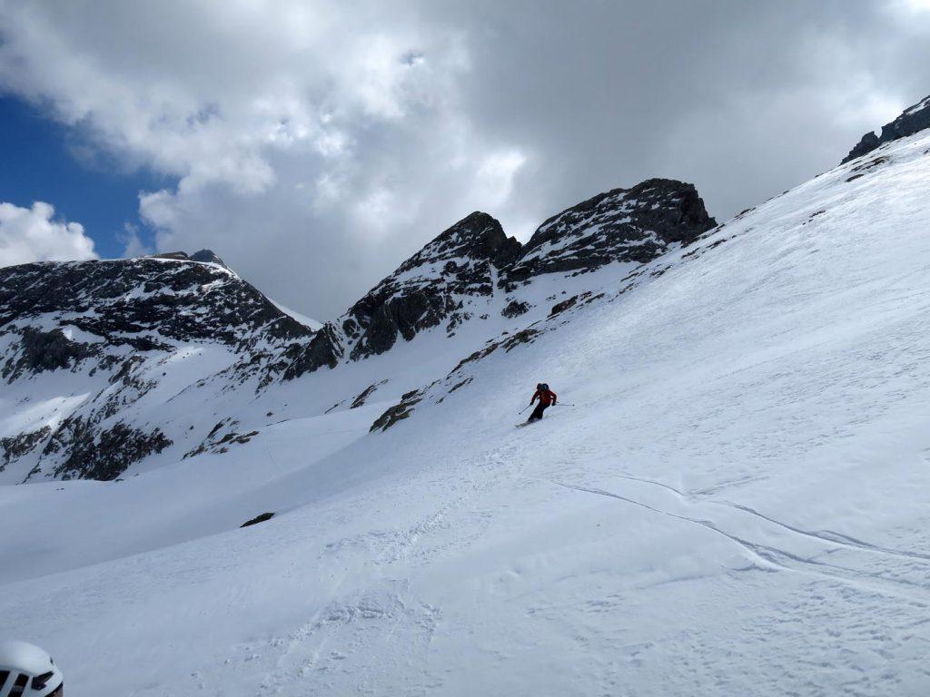 test ski randonnee dynafit speedfit pro 81 descente