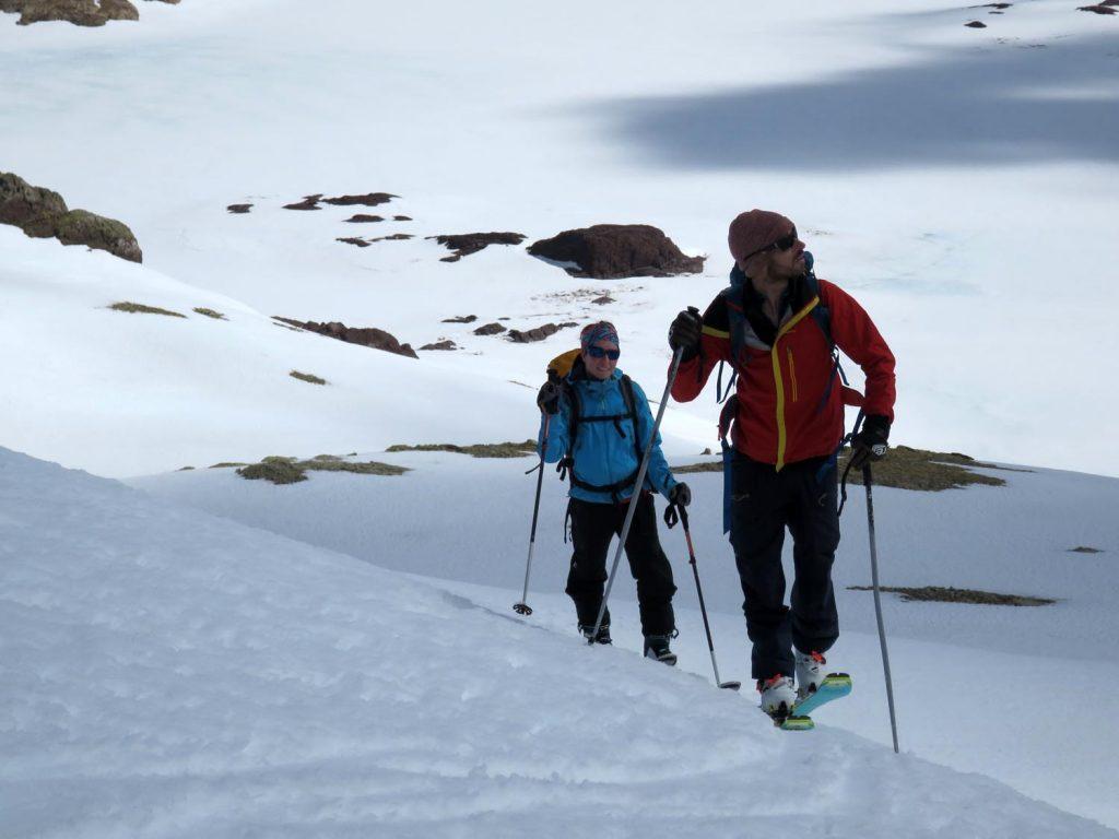 test ski randonnee dynafit speedfit pro 81 montee