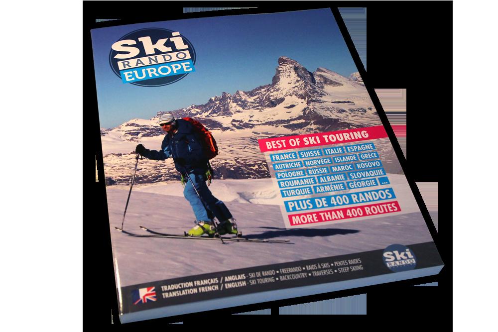 Livre Ski Rando Europe Ski Rando Magazine