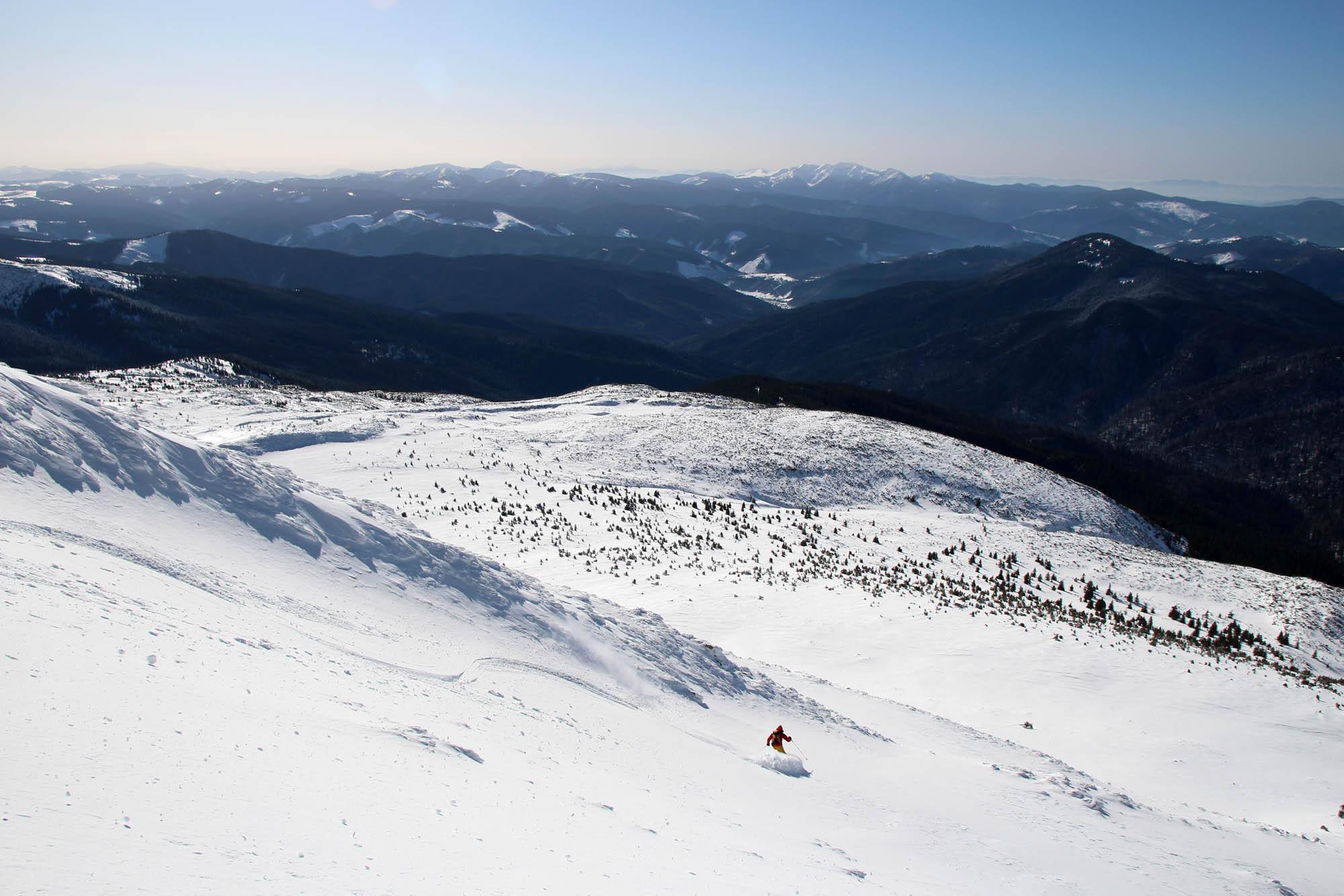 Test ski Majesty Superscoot Carbon