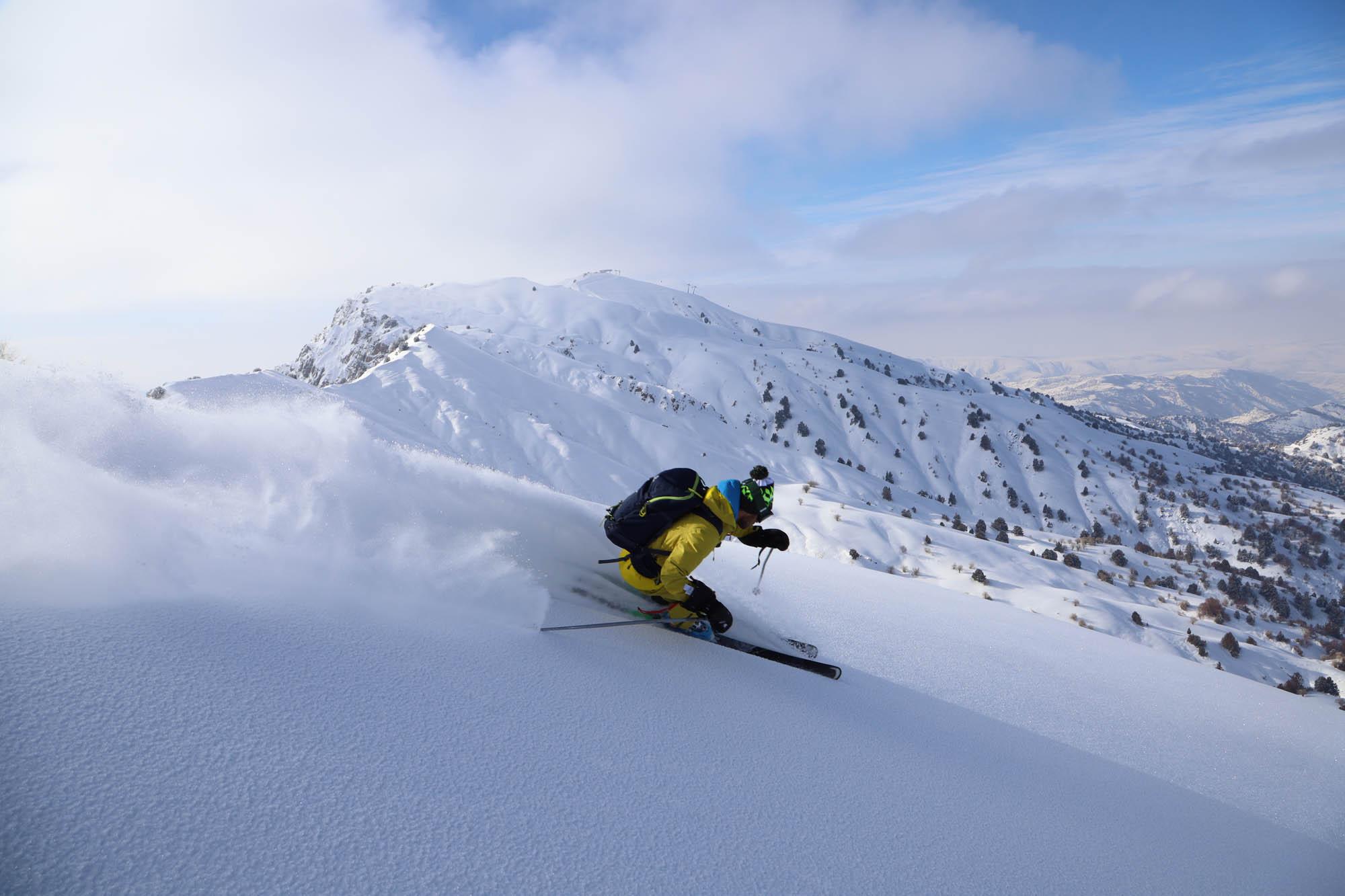 Test ski Majesty Superwolf Carbon