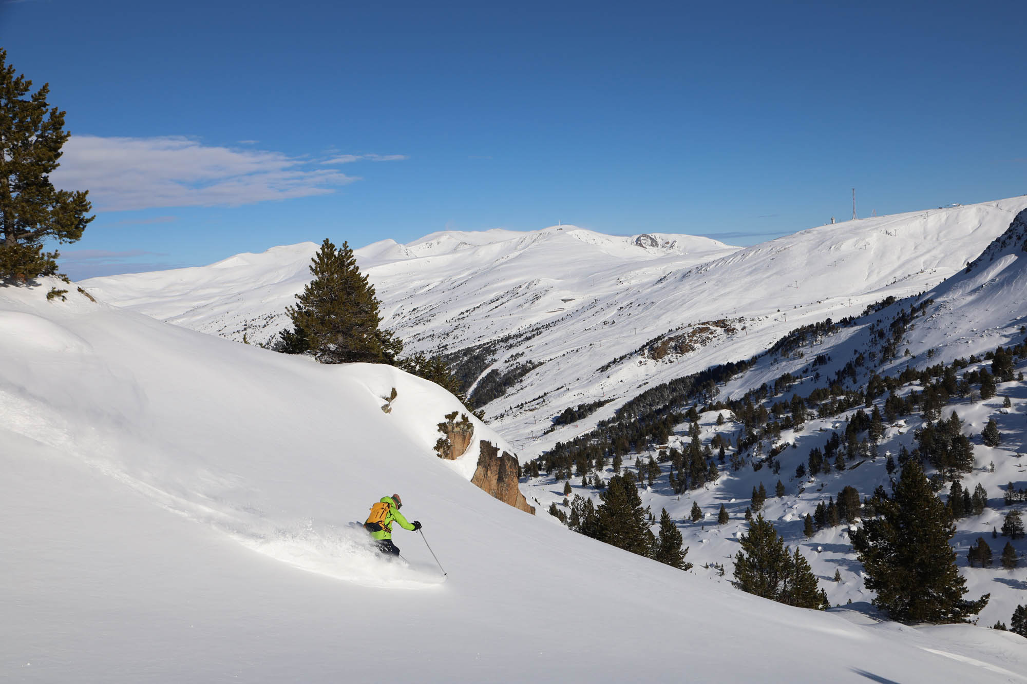 Test ski rando Majesty Superwolf Carbon descente