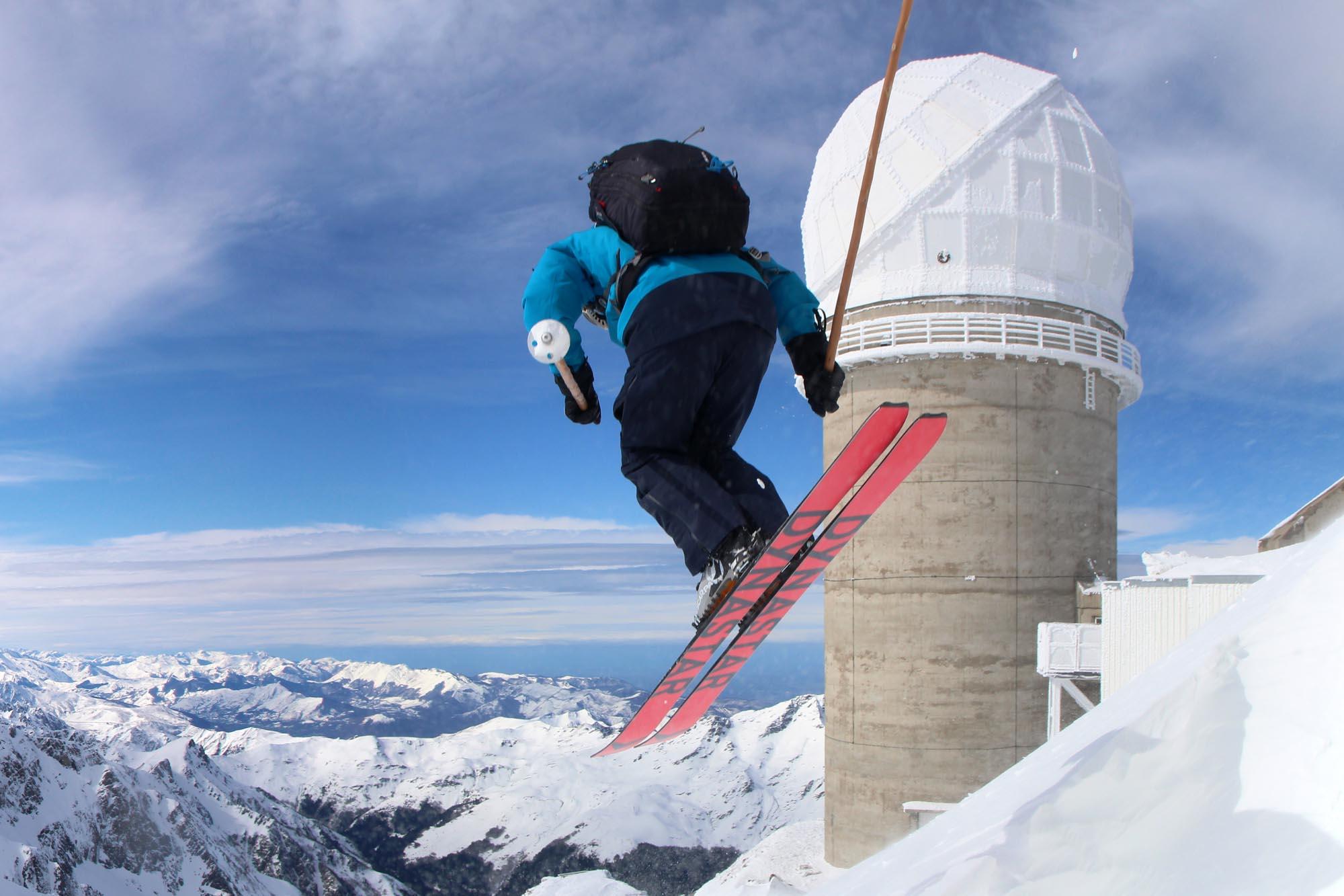 test ski rando