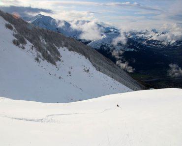 Ski de rando à Hautacam