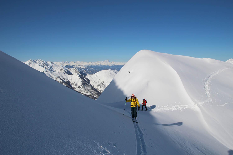 Ski de rando dans le Piemonte