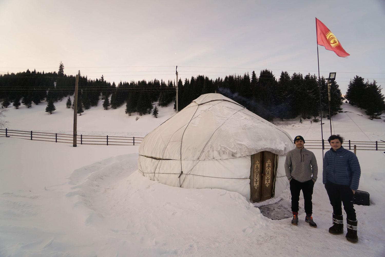 ski de rando au kirghizistan - la vallée de Jergalan