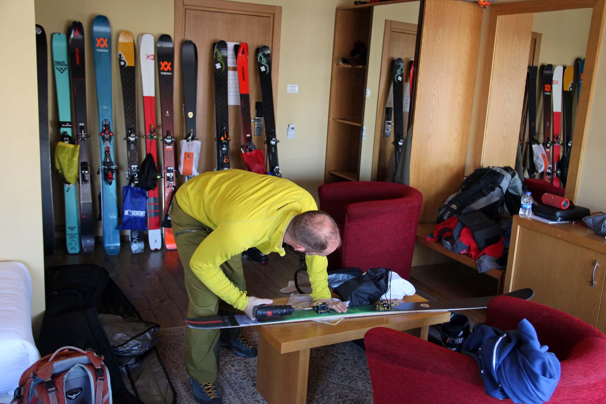 Test skis rando 2022