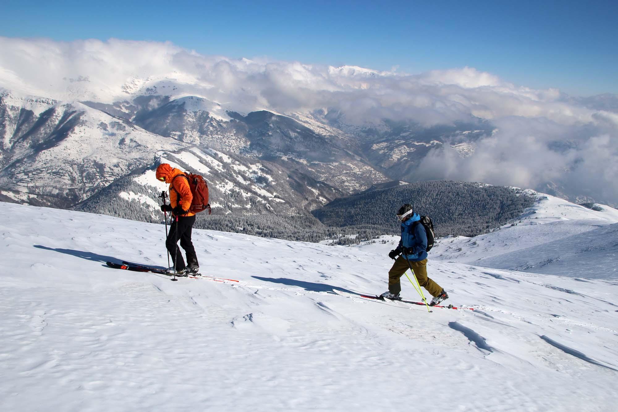 test skis rando 2022 montée