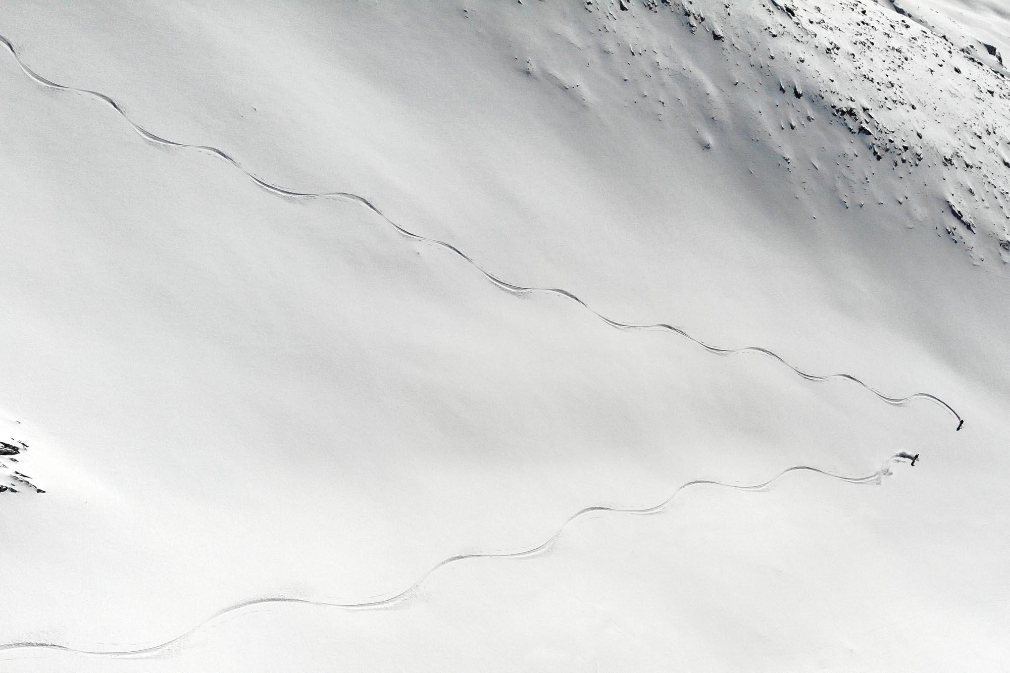 test skis randonnée 2022 en descente