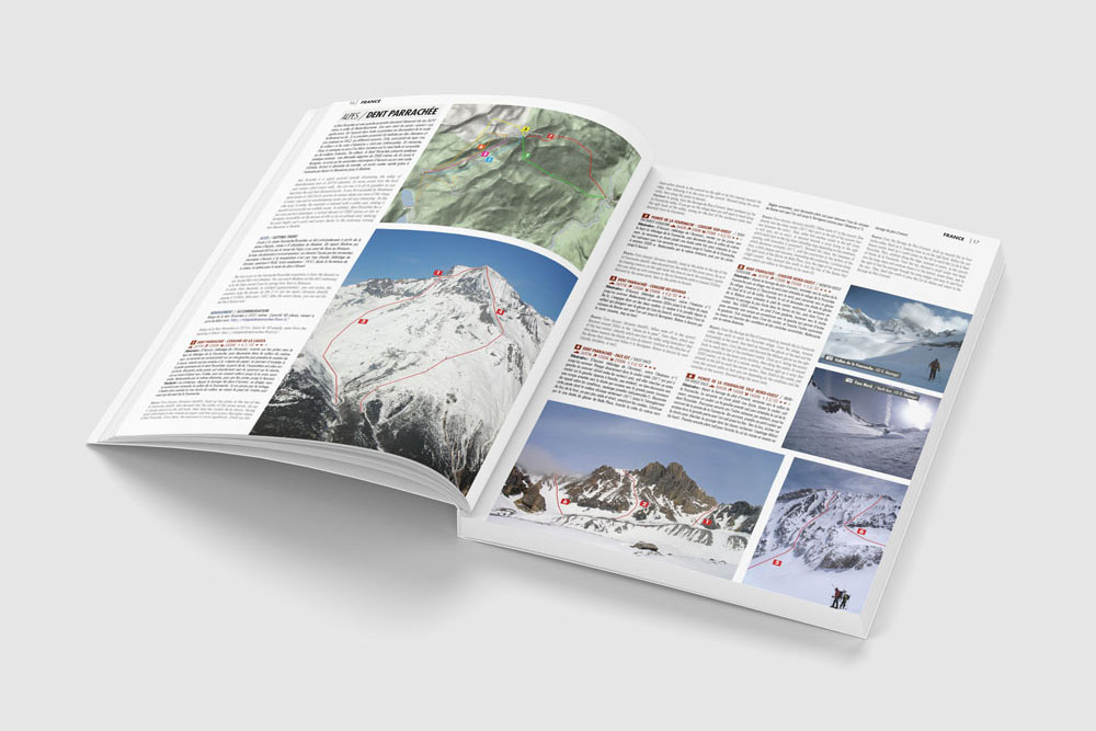 World Ski Touring Guide Topos