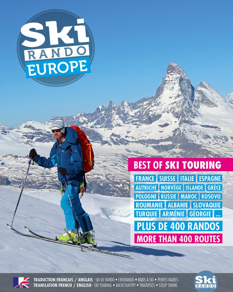 livre ski rando Europe